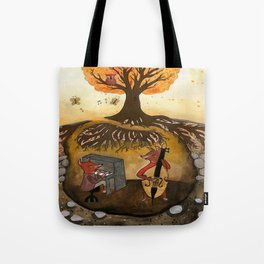 Fox Jam  Tote Bag