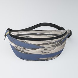 Silver Shimmer Fanny Pack