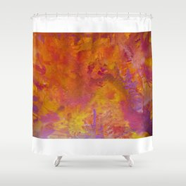 Rhubarb and custard wars Shower Curtain