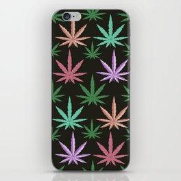 Marijuana Muted Colors iPhone Skin