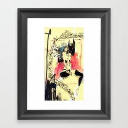 Queen Destructo Framed Art Print