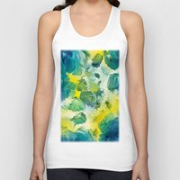 mineral Tank Tops featuring Mineral Series - Andradite by ShannonPosedenti