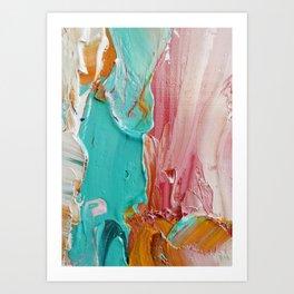 Impasto Art Print