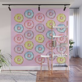 Donut Party Wall Mural