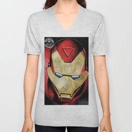 Avengers Reflection Unisex V-Neck