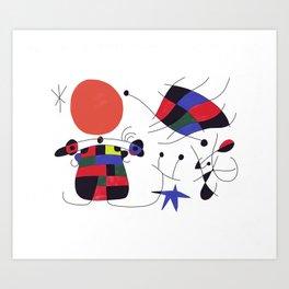 Joan Mirò #3 Art Print