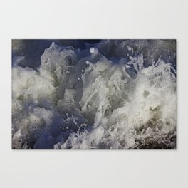 ocean commotion Canvas Print