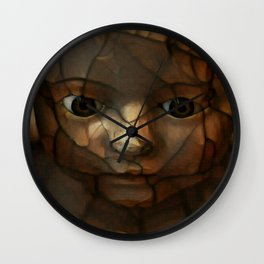 Old Doll Face Wall Clock