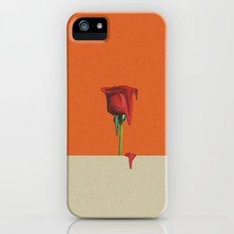 Melting Rose iPhone Case