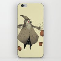 potter iPhone & iPod Skins featuring the potter. by Louis Roskosch
