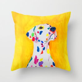 Lovey Throw Pillow