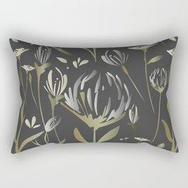 Blooming Night Rectangular Pillow