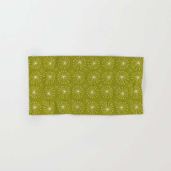 seedheads green Hand & Bath Towel