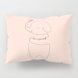 Love Yourself Ele 2 Pillow Sham