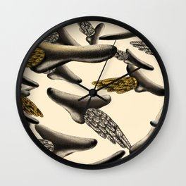 Flying noses Wall Clock