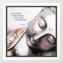 Artémo - Bouddha Art Print