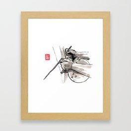 "Capoeira 482 ""Berimbau"" Framed Art Print"