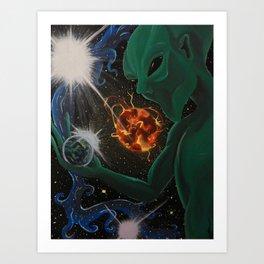 Into the Universe Art Print