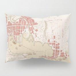 Vintage Map of Baltimore MD (1793) Pillow Sham