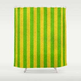 Stripes Collection: Irish Morning Shower Curtain
