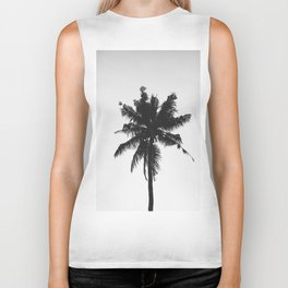 Palm, Tree, Nature, Tropical, Modern, Minimal, Interior, Wall art Biker Tank