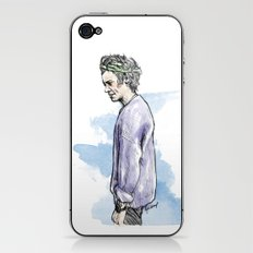 Lilac Haz iPhone & iPod Skin
