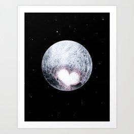 Love, Pluto Art Print