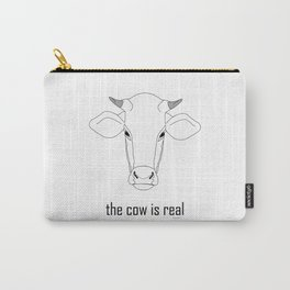 The Cow IS Real Carry-All Pouch