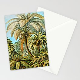 TROPICAL JUNGLE-Ernst Haeckel Stationery Cards