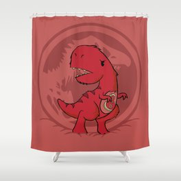 C-Rex Shower Curtain