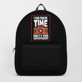 I can freeze time what's your superpower? Backpack
