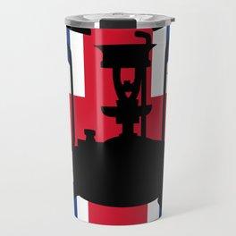 Union Jack and Paraffin pressure stove Travel Mug