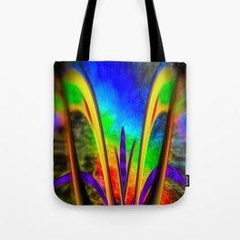 Fertile imagination 7 Rainbow Flower Tote Bag