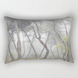 """""""Forest dance"""". Into the foggy woods... Rectangular Pillow"""