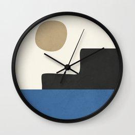 abstract minimal 30 Wall Clock