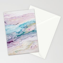 Purple Ocean Stationery Cards