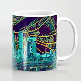 louisville skyline abstract Coffee Mug