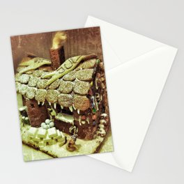 Christmas Gingerbread House Stationery Cards