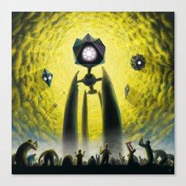 Utkin - Steel God Creation Canvas Print