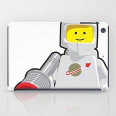 Vintage Lego White Spaceman Minifig iPad Case
