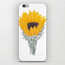 Sunflower 01 Botanical Flower iPhone Skin
