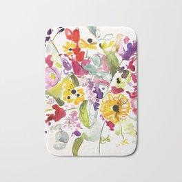 Jim Dandy Farm Flowers Bath Mat