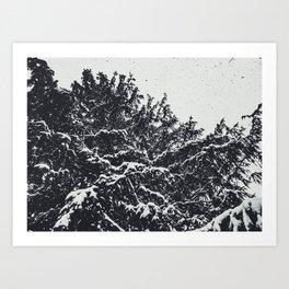 spatter Art Print