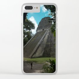TIKAL Clear iPhone Case