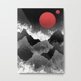 The two red moons Metal Print