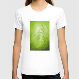 Angel of Healing - Abstract Angel Picture T-shirt