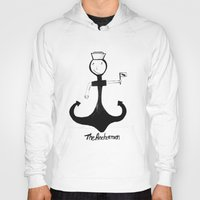 anchorman Hoodies featuring I'm your anchorman by frana the kid