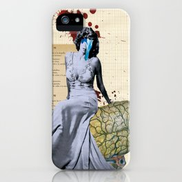 Rumbo a peor iPhone Case