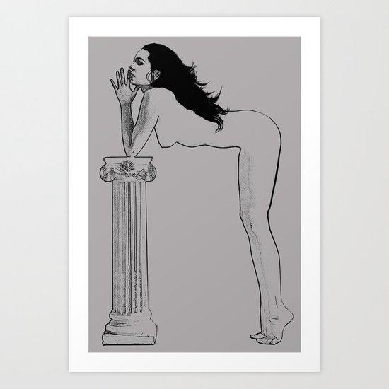 A Pillar Art Print