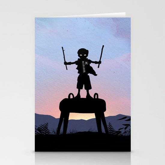 Robin Kid Stationery Cards